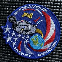 NASA'S SPACEX - ENDEAVOR CREW DRAGON DEMO 2 ASTRONAUT ISS MISSION PATCH - 3.5""