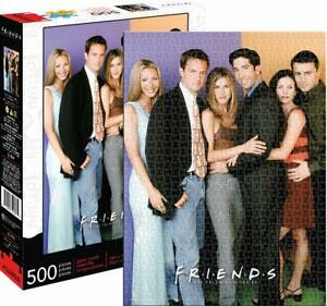 Friends (TV Series) Cast 500 piece jigsaw puzzle   480mm x 350mm  (nm)