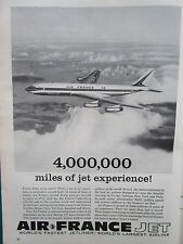 1/60 PUB AIR FRANCE BOEING 707 AIRLINER / AEROFLOT DE LUXE YAK-24 HELICOPTER AD
