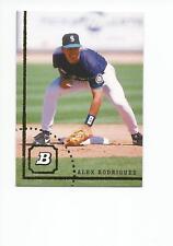 ALEX RODRIGUEZ 2005 Bowman Throwback Baseball card #94-AR Seattle Mariners NR MT