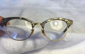 ANTIQUE VINTAGE LIBERTY USA 12K GF  GOLD cat eye? glasses eyeglasses frames