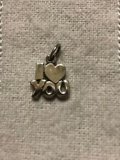JAMES AVERY STERLING SILVER RETIRED I LOVE YOU CHARM  # 8376
