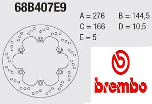 Disco freno BREMBO Serie Oro ANT Honda 600 XL V TRANSALP VR/VT 94 > 96