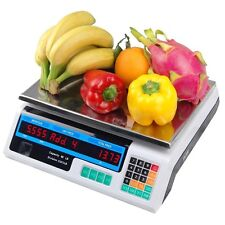 Digital Scale Deli Produce Meat Food Retail Price Weight 60 Lb Electronic Nib
