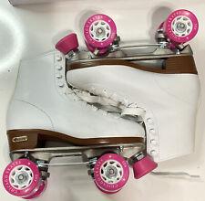 Chicago Women's Classic Roller Skates – White Rink Skates - Size 7 In Org. Box