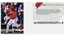 2018 Topps NOW ALBERT PUJOLS Road to Opening Day LOS ANGELES ANGELS