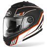 Casco modulare moto Airoh Phantom s Beat nero arancione taglia XXL helmet casque