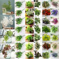Künstliche Mini Blume Kunstpflanze Kunstblumen Blumenstrauß Haus Hochzeit Dekor