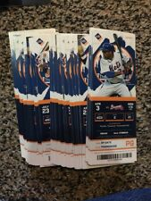 2017 NEW YORK METS SEASON TICKET STUB SET NOT IN BOOK LOOSE ALL 81 HOME GAMES