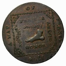 1794 Britain Hampshire Emsworth Kempsons Mule Halfpenny Conder Token D&H-18