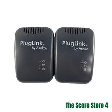 Plug Link By Asoka Ethernet Adapters, Model PL9650-ETH Lot Of 2 Preowned