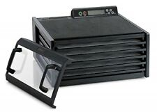 Excalibur 3548CDB Clear Door 5 Tray Food Dehydrator w/ Digital Timer NEW MODEL