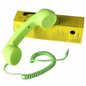 Pop Phone Handset Speaker Retro Mobile Native Telephones Mic Receiver Tablets