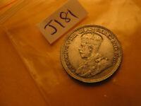 Canada 1936 Rare High Grade Ten Cent Silver Coin IDJ181.