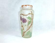 Glasvase um 1900 wohl Legras Montjoye Glas Vase