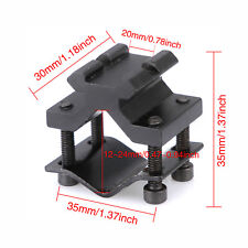Universal Tactical 20mm Rail Barrel Mount Clamp for Rifle Gun Scope Adapter