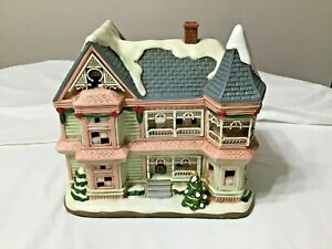 Christmas Colonial Village by Lefton-LIMITED EDITION and NUMBERED (4,705/5,500)