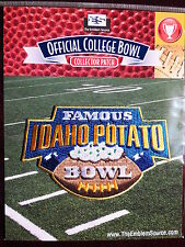 NCAA Football Famous Idaho Potato Bowl Patch 2014/15 Western Michigan, Air Force