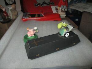 Walter Moers-Rare scène,cercueil le vieux con fauteuil roulant + autre
