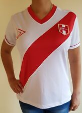 PERU SOCCER JERSEY WORLD CUP WHITE FOR WOMEN