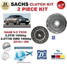 FOR SAAB 9-5 YS3G 2.0 TiD 160bhp TTiD XWD 190bhp 2010-> SACHS 2 PIECE CLUTCH KIT