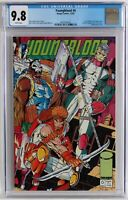 CGC 9.8 Youngblood #0 green title variant, white pages, contains coupon