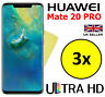3x ULTRA HD CLEAR SCREEN PROTECTOR COVER SAVER FILM GUARD FOR HUAWEI MATE 20 PRO