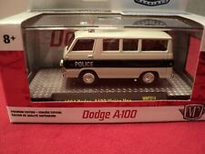 "M2 Machines 1964 Dodge A100 Vision Van ""police""  1/64 scale NIB 1of 7800"