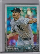 2015 TOPPS CHROME #57 CHRIS SALE PRISM REFRACTOR CHICAGO WHITE SOX 8266