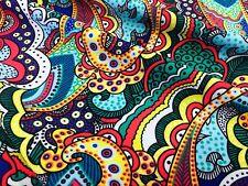 Multicolored Nylon Lycra Spandex fabric  4 Way Stretch for Swimwear By Yard
