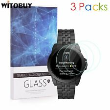 For Fossil Gen 5E 44mm 9H Hardness Tempered Glass Screen Protector 3 Packs
