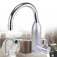 360° Elektrisch Wasserhahn Badarmatur Waschtischarmatur Kalt Heiß Küche Armatur