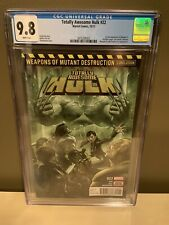 TOTALLY AWESOME HULK #22 (CGC 9.8 NM/MT) - 1st Appearance of Weapon H
