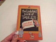 1981 The Ladybird Book of Tables and Other Measures