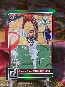 2015-16 Donruss Giannis Antetokounmpo #176 Milwaukee Bucks Die Cut /66 SSP