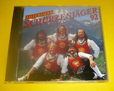 """CD """" ZILLERTALER SCHÜRZENJÄGER - ZILLERTALER SCHÜRZENJÄGER 92 """" 12 LIEDER"""