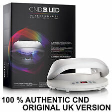 CND LED LAMP Cures Shellac & Brisa ORIGINAL UK VERSION Curing Light Nail Dryer