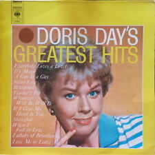 "12"" Doris Day Greatest Hits (Whatever Will être, will être, It's Magic) 70`s CBS"