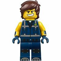The LEGO Movie 2 - Rex Dangervest Minifigure - Smile / Angry 70835 70826