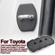 4Pcs Door Lock Striker Catch Cover Buckle For Toyota Yaris Prado Verso Cruiser