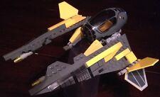 Custom Lego Star Wars Yellow Tactical fighter with Female Jedi Twi'Lek pilot