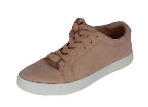 Reaction Kenneth Cole comfort footbed Joey sneakers shoes textile pink