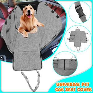 Waterproof Pet Car Seat Cover Cat Dog Hammock Van Back Rear Bench Pad Mat  D1