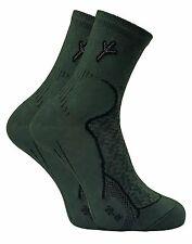 Dr Hunter - 2 Pack Mens Cotton Antibacterial Anti Sweat Odour Walking Boot Socks