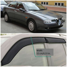 AE30497 Window Visors Guard Vent Wide Deflectors For Alfa Romeo 156 Sd 1997-2005