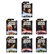 Star Wars Hot Wheels Disney Set of 8 Cars Dwd85