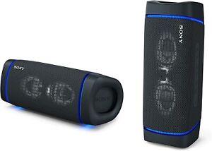 SONY SRS-XB33 Portable Bluetooth Speaker  Waterproof Mic Black EXTRA BASS - 2020
