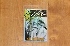 The Used  - Laminated Backstage Pass -  FREE POSTAGE -