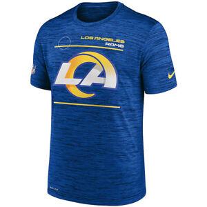 Brand New 2021 Los Angeles Rams Nike Sideline Velocity Legend Space Dye T-Shirt
