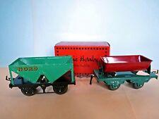 Lot de 3 wagons marchandises, à 2 essieux de HORNBY- Hachette  en O.